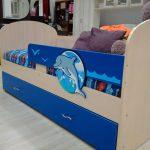 большая кровать дельфин