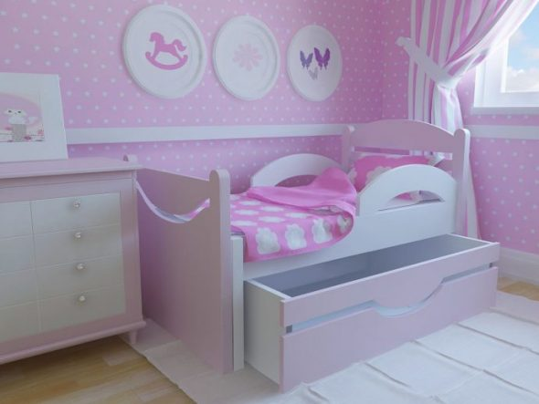 детская кровать гарнитур