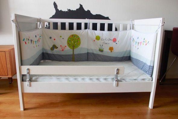 Ограничители для детской кроватки: какой лучше изготовить? 87