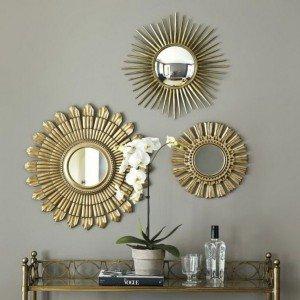 декор комнаты зеркалом