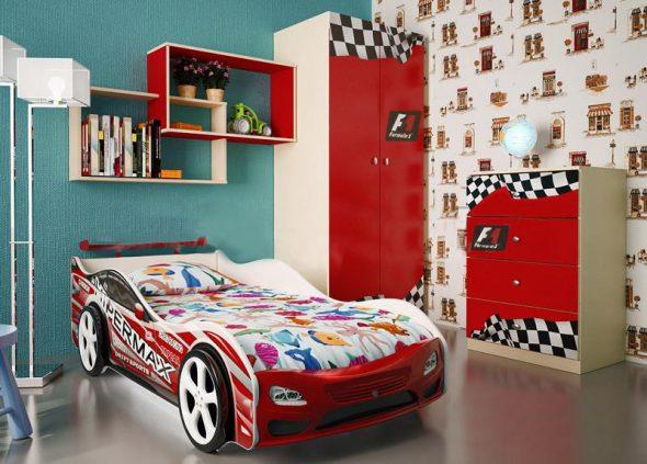 кровать бельмарко в детской