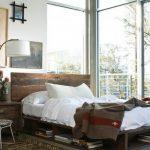 деревянная кровать своими руками интерьер