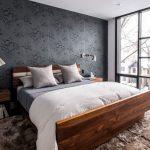 деревянная кровать своими руками в спальне