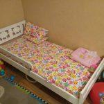 детская кровать икеа белая с бортиком