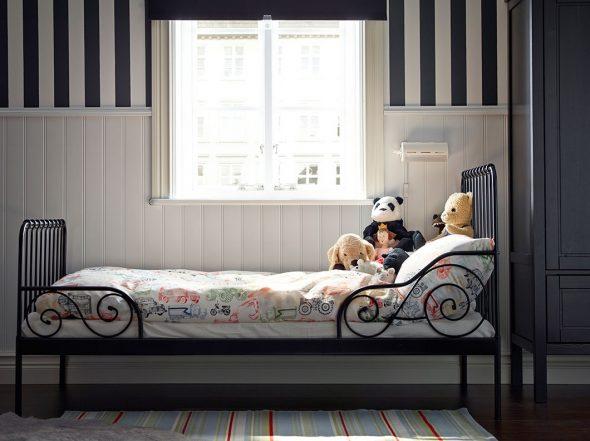 кровать икеа миннен