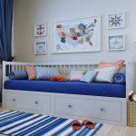 детская кровать икеа с ящиками