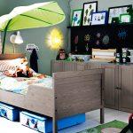 детская кровать икеа в интерьере