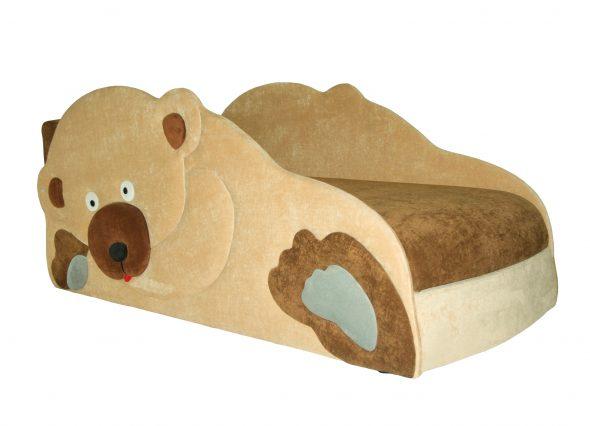 детский диван кровать медведь