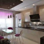 диван на кухне современный