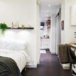светлая спальня дизайн