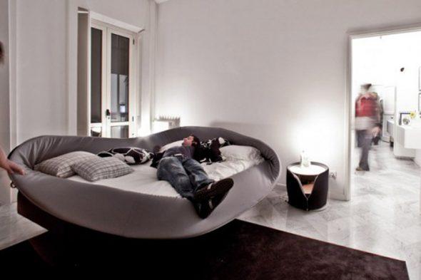 дизайнерское решения кровати