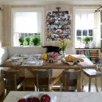 диван на кухне фото