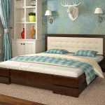 двуспальная кровать Arbor Drev Regina