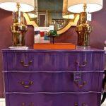 комод фиолетовый