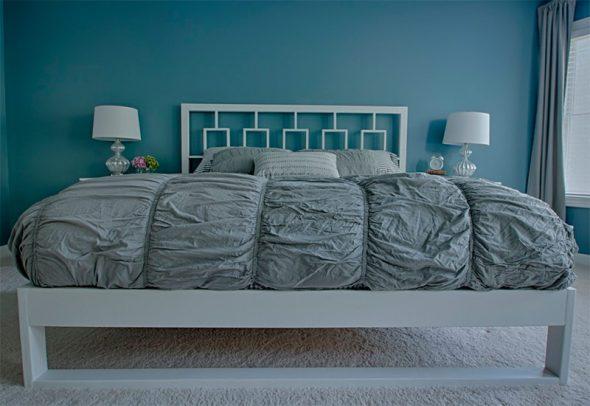 готовая двуспальная кровать