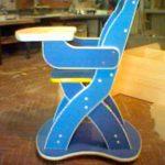 этот детский стульчик сделан из обрези ЛДСП