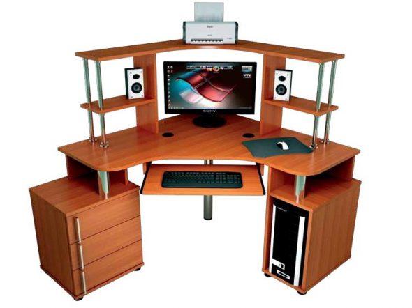 компьютерный стол в комнату