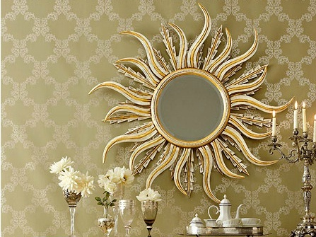 красота зеркала