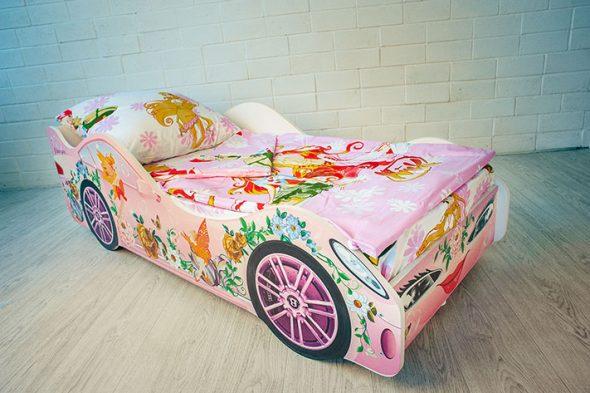 кровать бельмарко для девочки