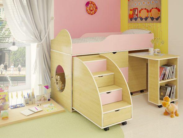кровать чердак для детей