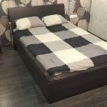 кровать двуспальная икеа оппдал 2000х1400 с матрасом