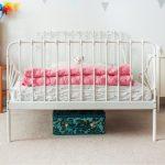 кровать икеа детская миннен