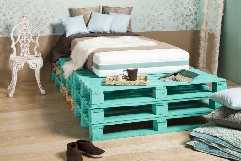 Как из деревянных поддонов сделать кровать