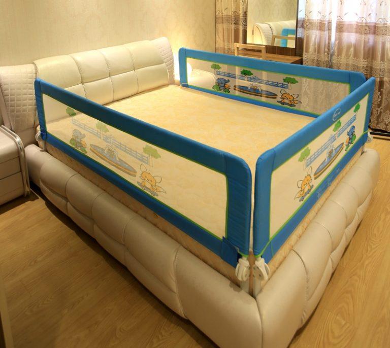 Как сделать бортик на кровать ребенку