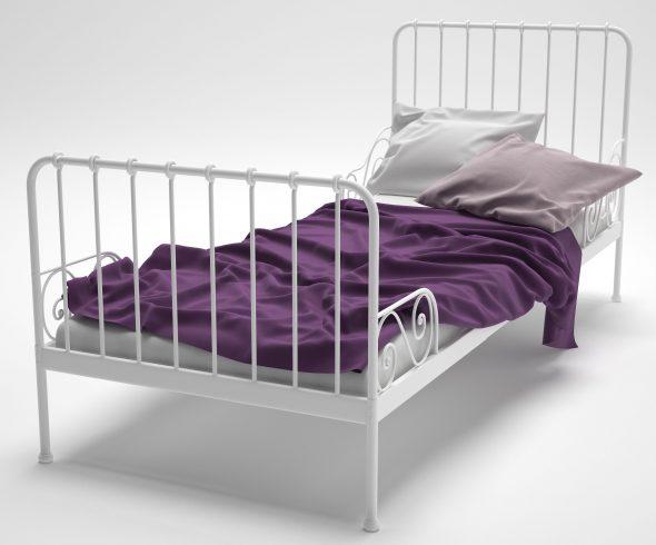 кровать миннен икеа