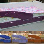 кровать дельфин расцветки