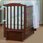 кровать детская продольный маятник
