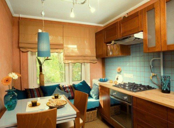 Диван на кухне дизайн интерьера