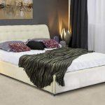 купить двуспальную кровать белого цвета