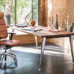 офисное кресло коричневое