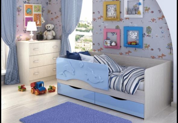 кровать дельфин для ребенка