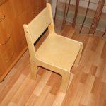 простой детский стульчик