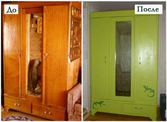 Реставрация старый шкаф своими руками фото 425