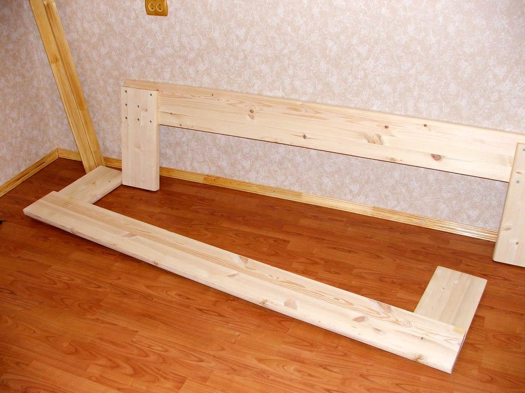 Кровать из реек своими руками 116
