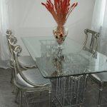 стандартная высота стола в интерьере кухни