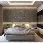 стена в спальне над кроватью