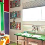 стол для школьника зеленый
