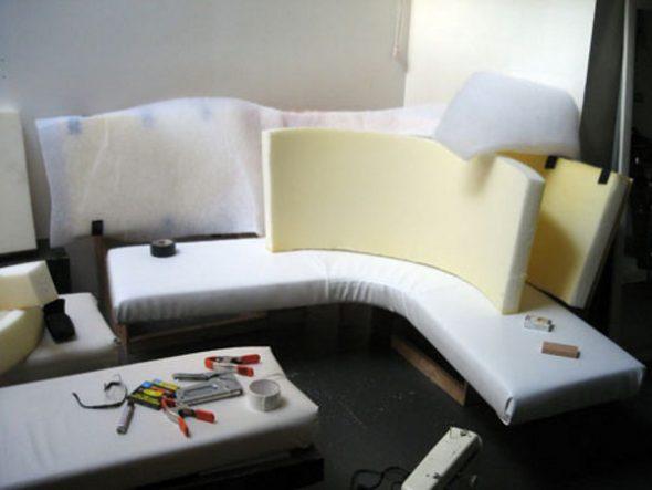 обивка дивана своими руками