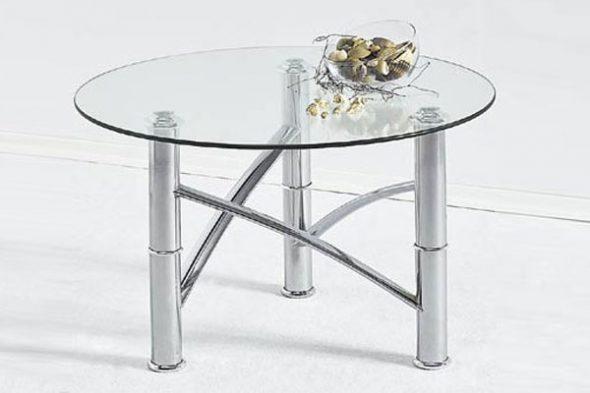 вырезать круглое стекло на стол