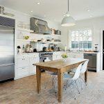 высота кухонного стола стандарты