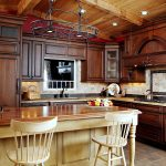 высота стола на кухне фото