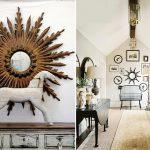 зеркало-солнце-детали в интерьере