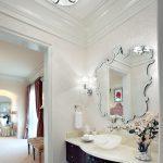зеркало в ванной рама