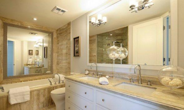 зеркало в ванной толщина