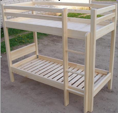 2-ух ярусные деревянные кровати