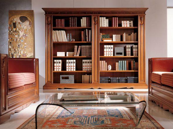 книжный шкаф барокко